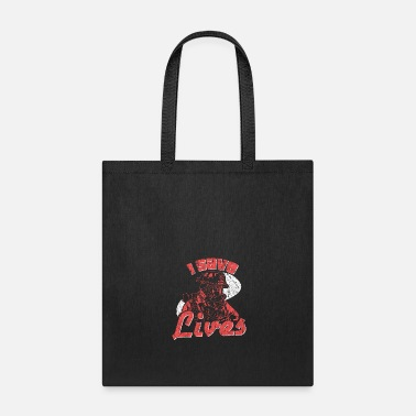 Wisdom Firefighter Saying Gift - Tote Bag