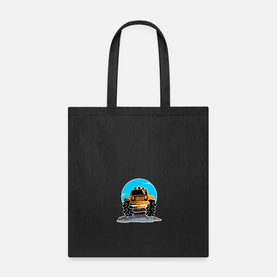 Truck Bags & Backpacks - Monster Truck - Tote Bag black