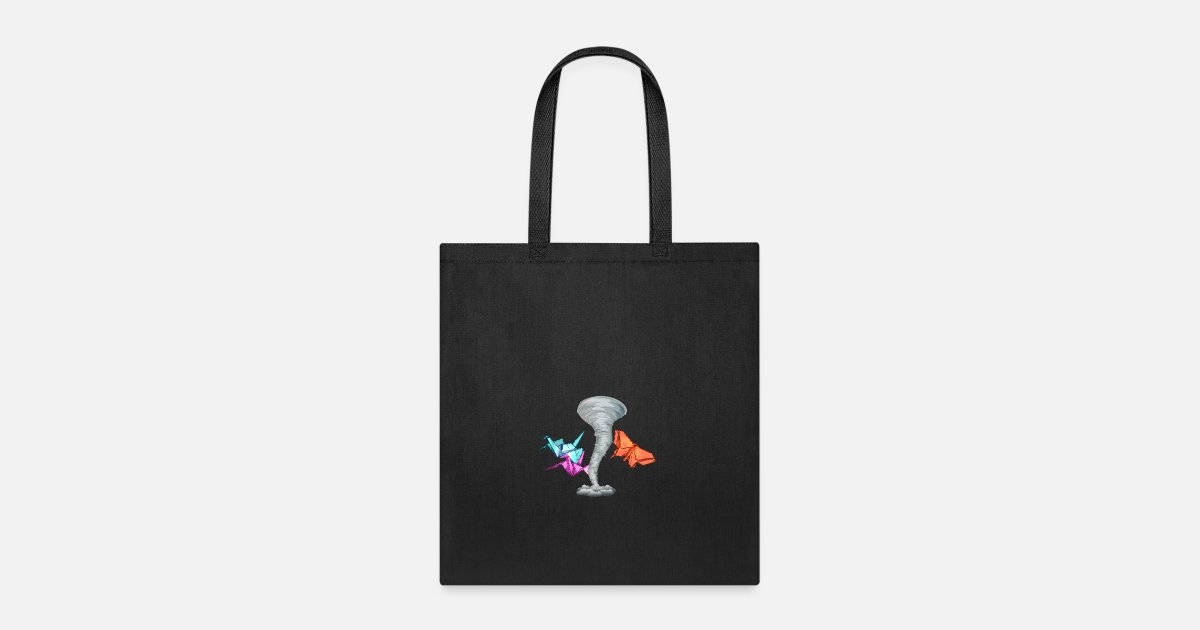 Origami Tornado Tote Bag Spreadshirt