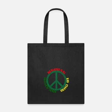 Grime REGGAE IS OUR WEAPON,PEACE - Tote Bag