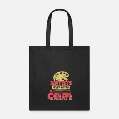 Clever Art Saying - Tote Bag