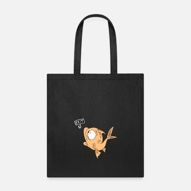 Fish Hook fish, fishing, fishing hook - Tote Bag