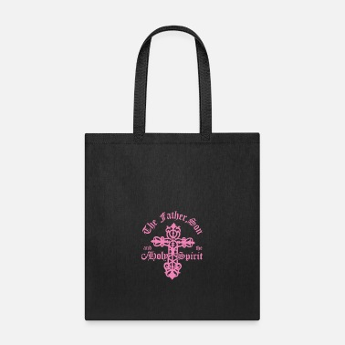 Holy Spirit The Father, Son & Holy Spirit - Tote Bag