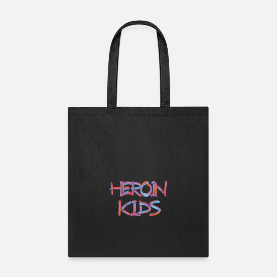 Dj Bags & Backpacks - HEROIN KIDS 3 - Tote Bag black