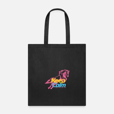 Gallop Keep Calm And Gallop On - Tote Bag