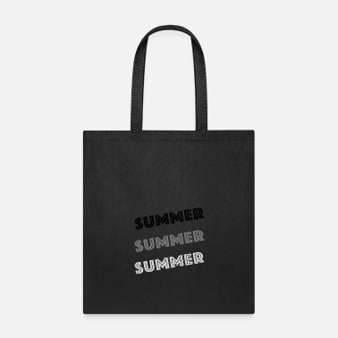 Summer Summer Summer Summer -grey - Tote Bag