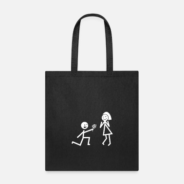 Court Stickman Courting - Tote Bag