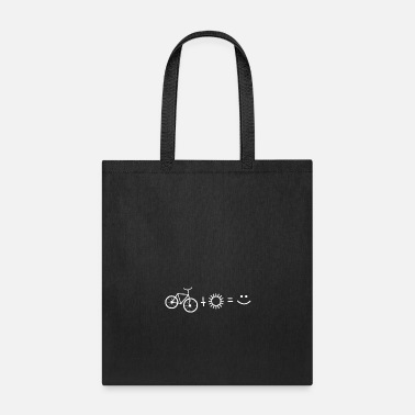 Enviromental 15 Bicycle Sun Smiley - Tote Bag