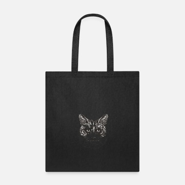 Cat cat portrait - Tote Bag