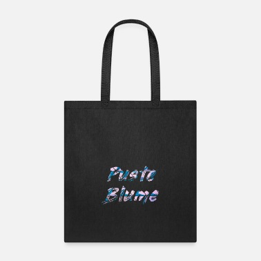 Blume Puste Blume Blow Flower - Tote Bag