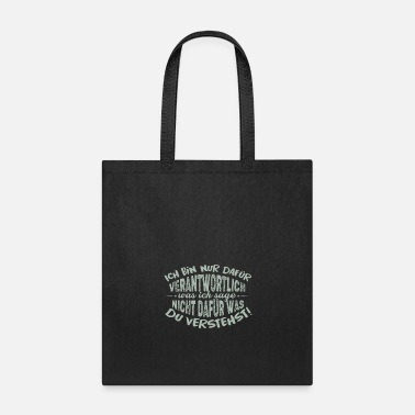 Quotes funny quote - Tote Bag