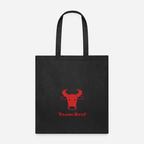 Contemporary Bags & Backpacks - Team Beef - Tote Bag black