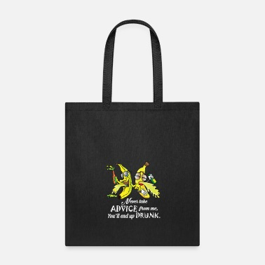 Banana Drunk Bananas Cartoon Comic Friends Gift Idea - Tote Bag