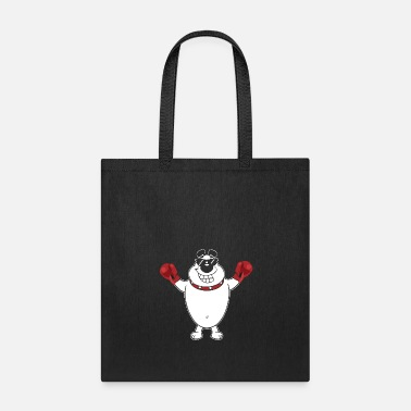 Expression Gym Dog Boxer Fighting Sports Funny Gift - Tote Bag