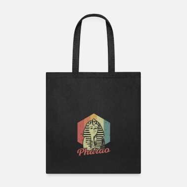 Ancient Pharaoh King Tut Ancient Egypt Retro Vintage Gift - Tote Bag