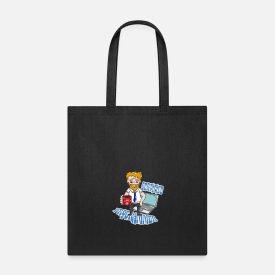 Code Bags & Backpacks - Coding Computer Science - Tote Bag black