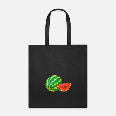 Health Retro Vintage Grunge Style Watermelon - Tote Bag