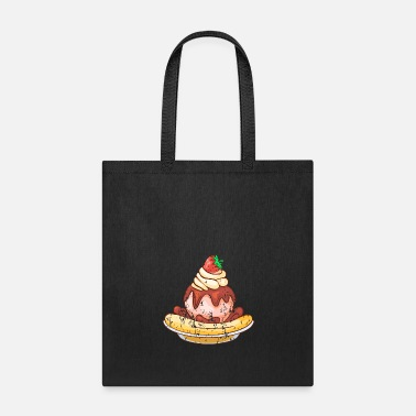 Ice Retro Vintage Grunge Style Ice cream - Tote Bag