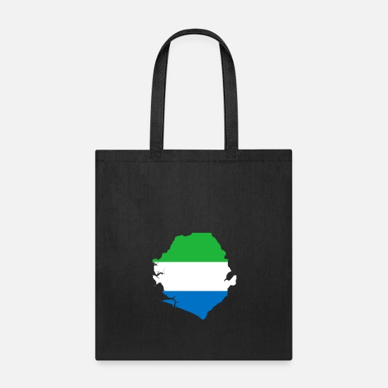 Sierra Leone Bags & backpacks - sierra leone - Tote Bag black