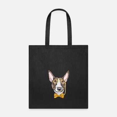 Monocle Dog with monocle - Tote Bag