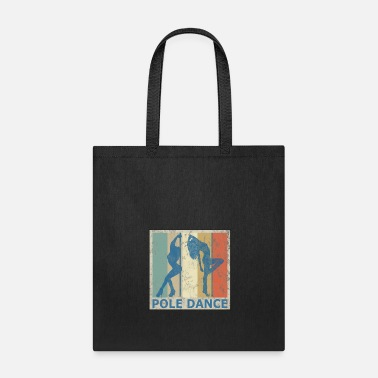 Guys Night Out Retro Vintage Style Pole Dance Dancing Dancer - Tote Bag