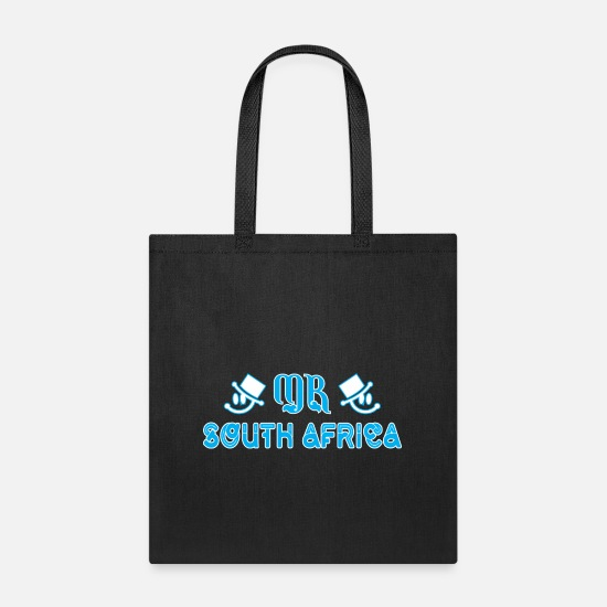 America Bags & Backpacks - Mr South Africa - Tote Bag black