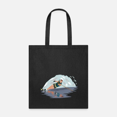Water Skiing water skiing water ski wasser3 - Tote Bag