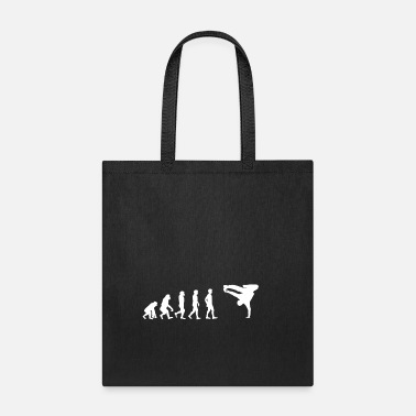 Bboy EVOLUTION breakdance bboy breakin - Tote Bag