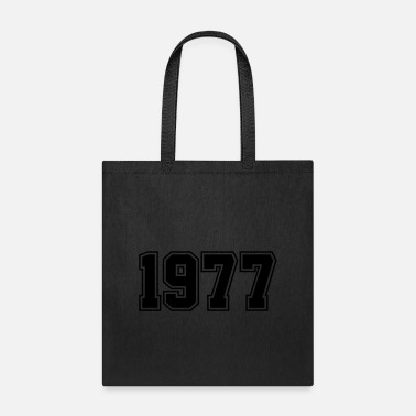 Year Of Birth 1977 | Year of Birth | Birth Year | Birthday - Tote Bag