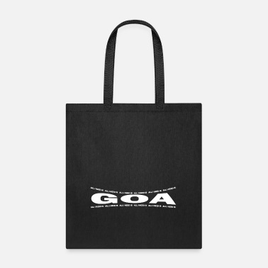 Goa LOVE TECHNO GESCHENK goa pbm GOA bpm goa - Tote Bag