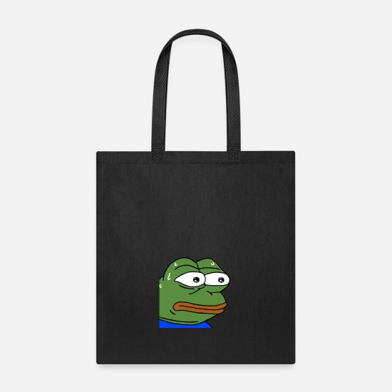Nervous Pepe - monkaS (Twitch Emote) Tote Bag | Spreadshirt