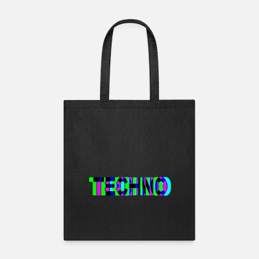 Hardstyle techno - Tote Bag