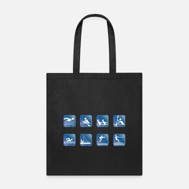 Water Skiing water skiing water ski wasser2 - Tote Bag