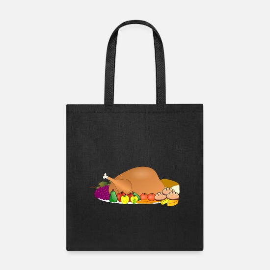 Turkey Bags & backpacks - turkey - Tote Bag black