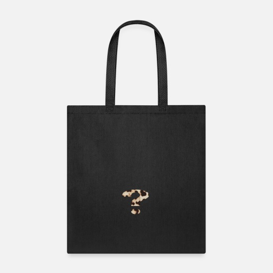 Question Bags & Backpacks - question mark - Tote Bag black