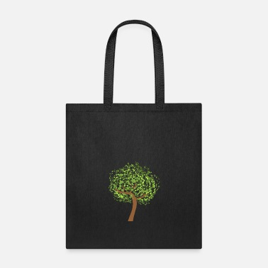 Graphic tree vector graphic art forest - Tote Bag
