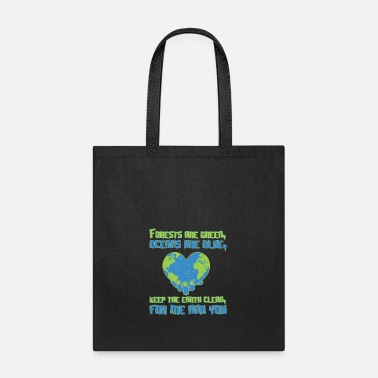 Environmental Protection Environmental protection ocean forest earth - Tote Bag