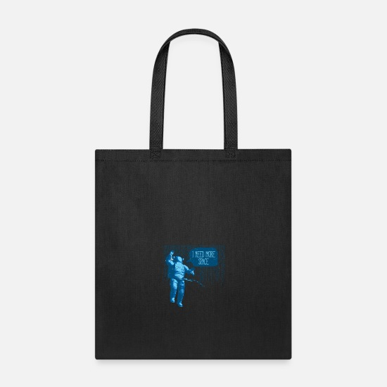 Astronaut Bags & Backpacks - Astronaut Space Word Play - Tote Bag black