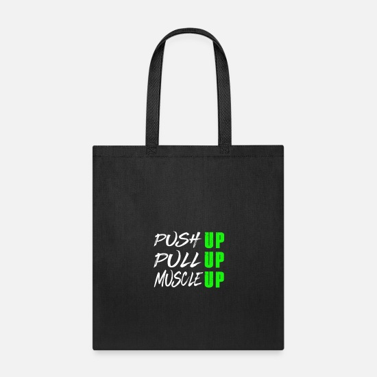 127bc71a Tote BagCalisthenics Street Workout Push Pull Muscle Up. Strong Shirts