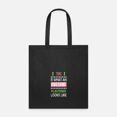 Phone Plasterer Job Awesome Looks Cool Funny Birthday - Tote Bag