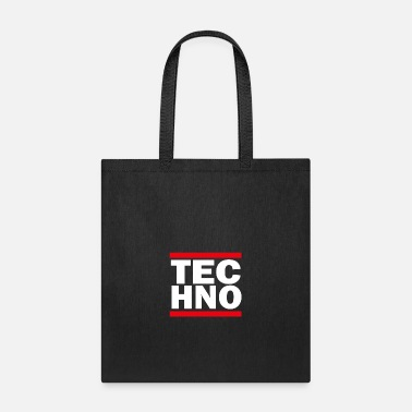 Hardhouse TECHNO RUN frenchcore raver ballern - Tote Bag
