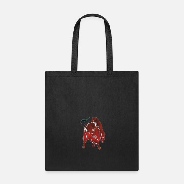 Bull Bull fighting - Tote Bag