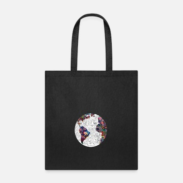 World world map - Tote Bag