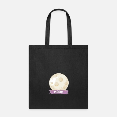 Octagon Planet Moon Space gift - Tote Bag