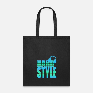 Shuffle Hardstyle Techno Music party festival outfit - Tote Bag