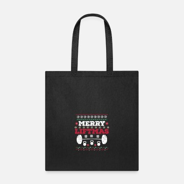 Merry Merry Liftmas Workout Christmas T-Shirt Fitness - Tote Bag