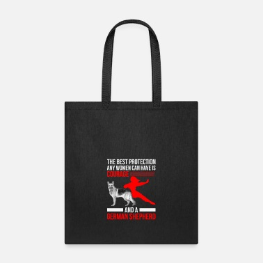 German Shepherd german shepherd - gift - shepherd - Tote Bag