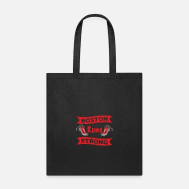 Boston Marathon Boston Runs Strong Running Marathon - Tote Bag