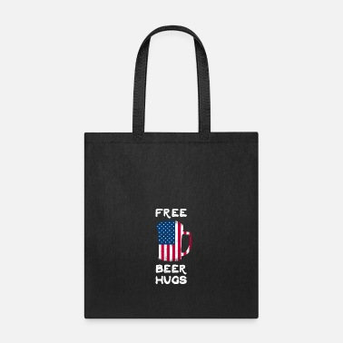 Free Beer Free Beer Hugs Drink Beer Alcohol Drinking - Tote Bag