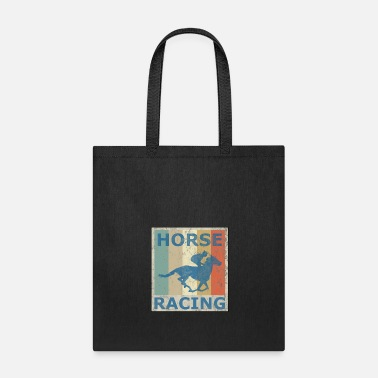 Equitation Retro Vintage Style Harness Racing Equitation - Tote Bag